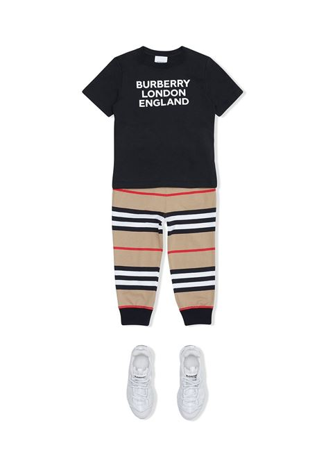 T-shirt nera BURBERRY KIDS | T-SHIRT | 8028809A1189