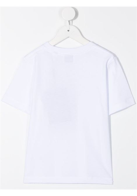 White t-shirt BURBERRY KIDS | T-SHIRT | 8028811A1464