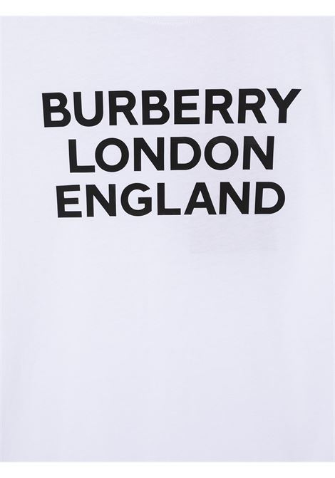 White t-shirt BURBERRY KIDS | T-SHIRT | 8028811TA1464