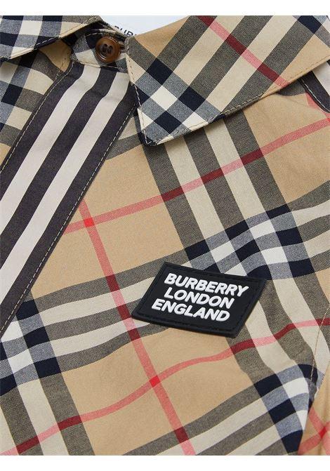 Camicia a quadri BURBERRY KIDS | CAMICIE | 8030099A7028