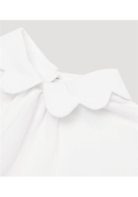 Abito bianco/beige BURBERRY KIDS | ABITI | 8030391A1464