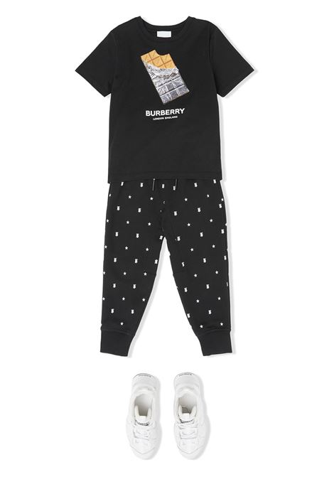 T-shirt nera BURBERRY KIDS | T-SHIRT | 8036902A1189