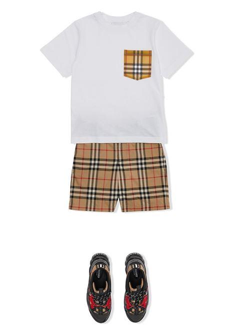 T-shirt bianca BURBERRY KIDS | T-SHIRT | 8038088A1464