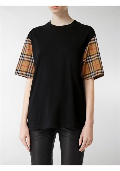 T-shirt nera BURBERRY | T-SHIRT | 8014895A1189