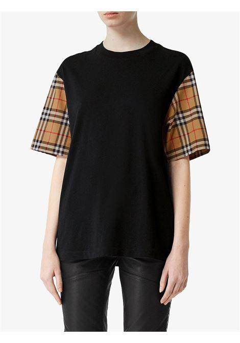Black t-shirt BURBERRY | T-SHIRT | 8014895A1189