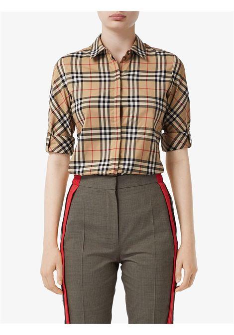 Beige shirt BURBERRY | SHIRTS | 8018475A7028