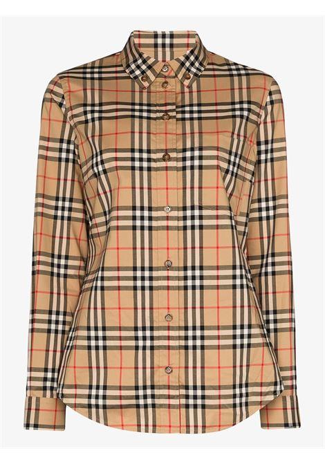 Beige shirt BURBERRY | SHIRTS | 8022284A7028