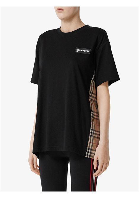 Black t-shirt BURBERRY | T-SHIRT | 8024545A1189