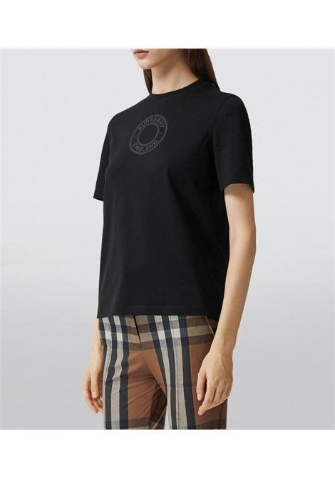 T-shirt nera BURBERRY | T-SHIRT | 8036024A1189