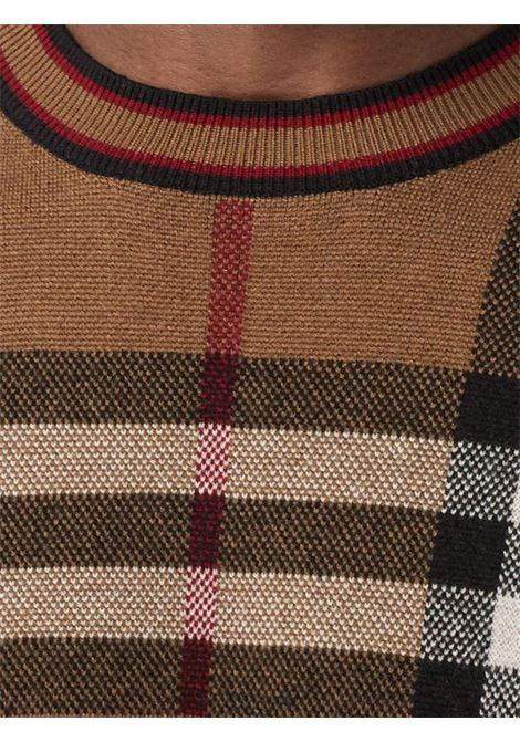 Maglia marrone BURBERRY | MAGLIE | 8036603A8773