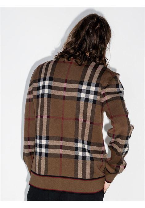 Brown jumper BURBERRY | JERSEYS | 8036603A8773
