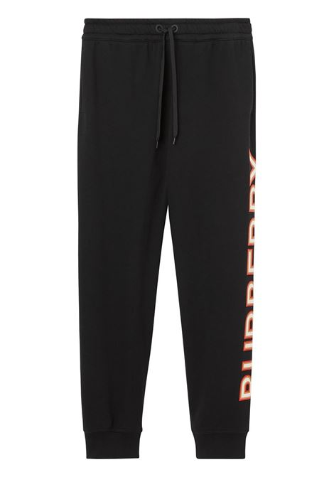 Pantalone nero BURBERRY | PANTALONI | 8037260A1189