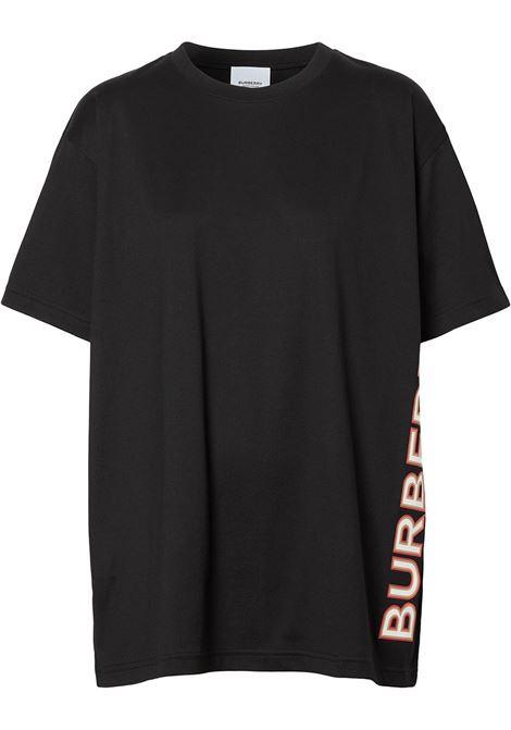 Black t-shirt BURBERRY | T-SHIRT | 8037382A1189