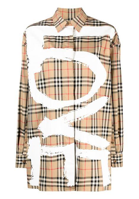 Beige shirt BURBERRY |  | 8038128A7028