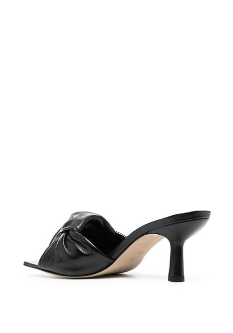Black mules BY FAR |  | 21SSLAMBLCREBLACK