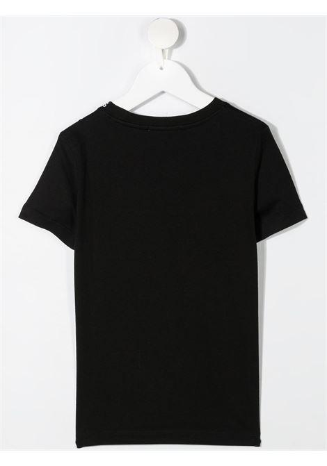 T-shirt nera CALVIN KLEIN KIDS | T-SHIRT | IB0IB00695BEH
