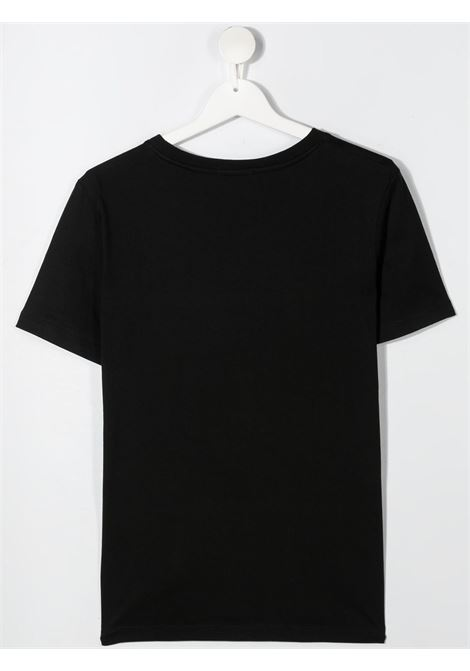 T-shirt nera CALVIN KLEIN KIDS   T-SHIRT   IB0IB00695TBEH