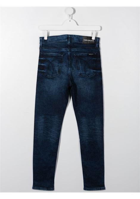 Jeans blu CALVIN KLEIN KIDS | JEANS | IB0IB00736T1BJ