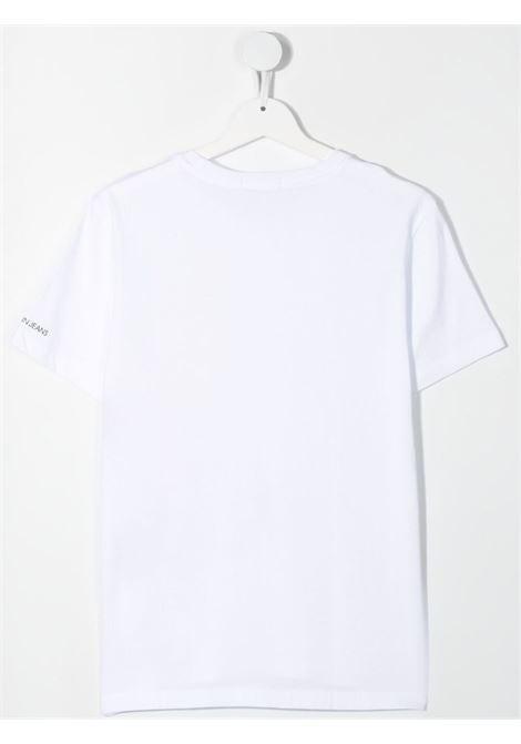 T-shirt bianca CALVIN KLEIN KIDS | T-SHIRT | IB0IB00843TYAF
