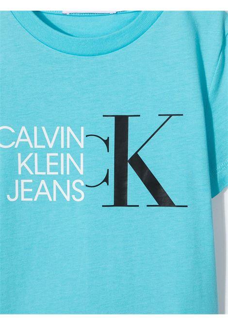 T-shirt blu CALVIN KLEIN KIDS | T-SHIRT | IB0IB00849CU4