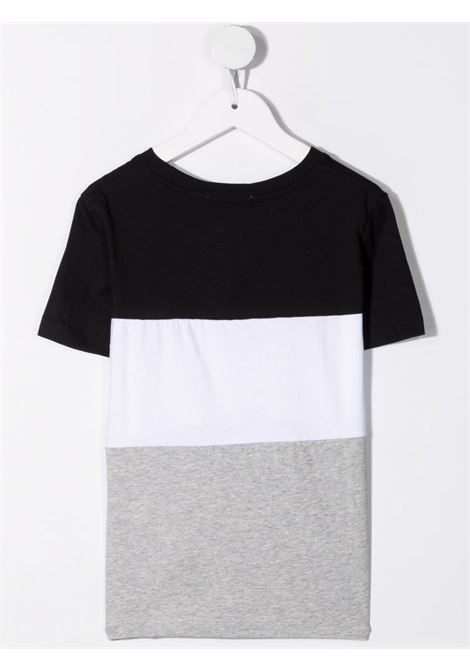 T-shirt nero/grigia CALVIN KLEIN KIDS | T-SHIRT | IB0IB00887BEH