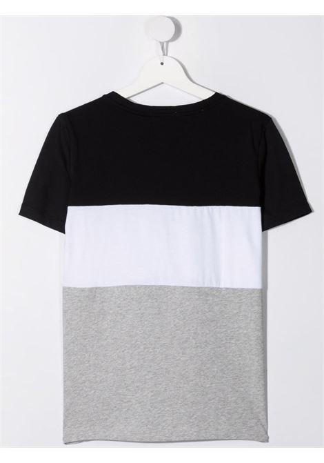 T-shirt nera/grigia CALVIN KLEIN KIDS | T-SHIRT | IB0IB00887TBEH