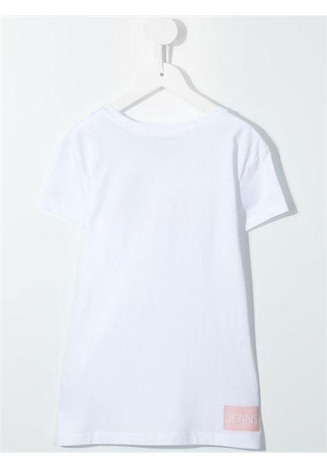 T-shirt bianca CALVIN KLEIN KIDS | T-SHIRT | IG0IG00380T0LA