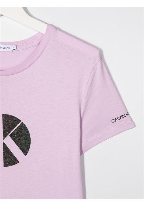 T-shirt viola CALVIN KLEIN KIDS | T-SHIRT | IG0IG00763TVOW