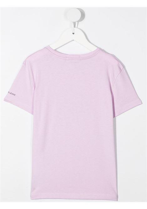 T-shirt viola CALVIN KLEIN KIDS | T-SHIRT | IG0IG00763VOW
