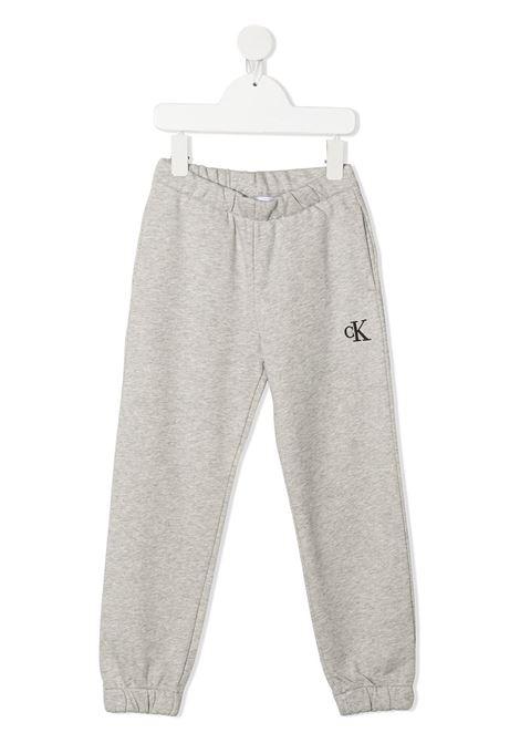 Pantalone grigio CALVIN KLEIN KIDS | PANTALONI | IG0IG00778PZ2