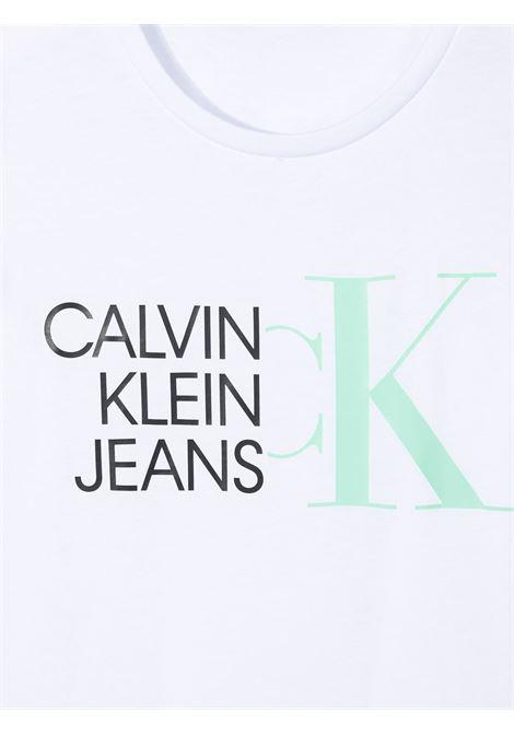 T-shirt bianca CALVIN KLEIN KIDS | T-SHIRT | IG0IG00888YAF