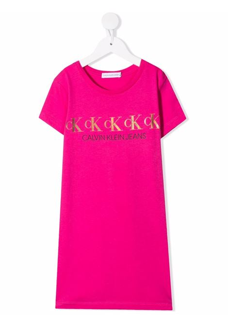 Magenta dress CALVIN KLEIN KIDS | DRESS | IG0IG00911TP1