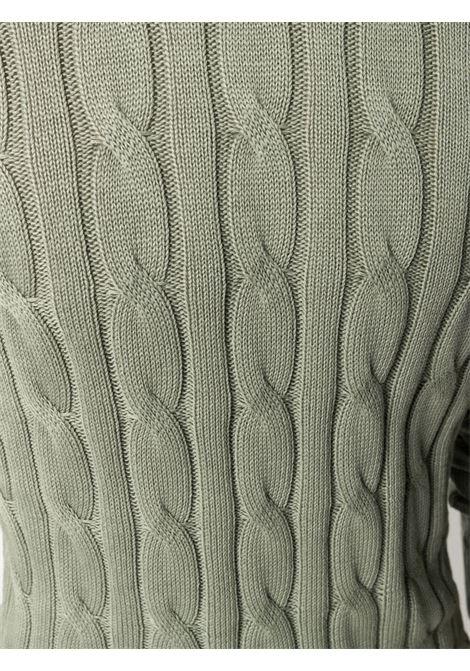Green jumper CENERE MAGLIE | FU50800ESERCITO