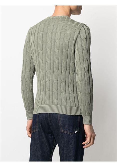 Green jumper CENERE MAGLIE | SWEATER | FU50800ESERCITO
