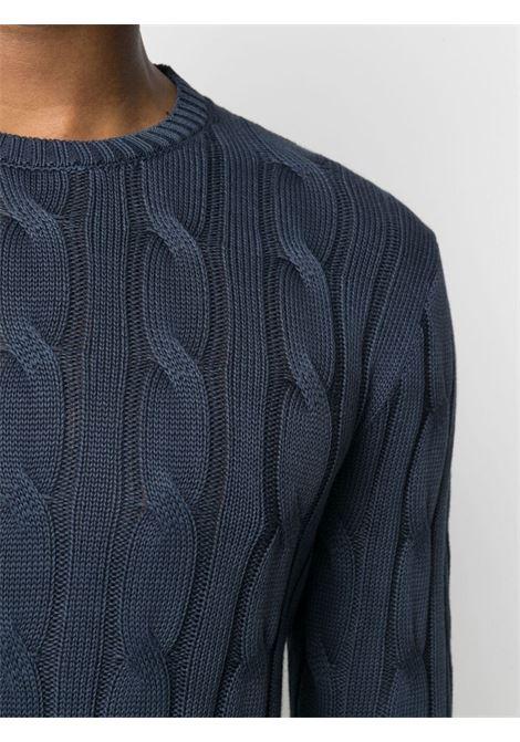 Blue jumper CENERE MAGLIE | SWEATER | FU50800NAVY