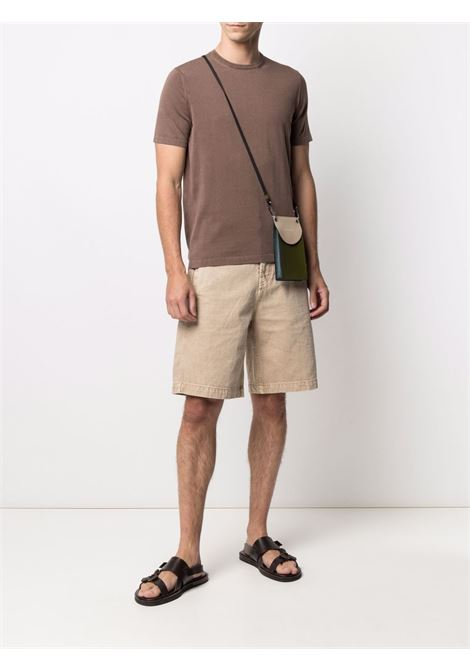 Brown t-shirt  CENERE MAGLIE | T-SHIRT | FU51135CACAO