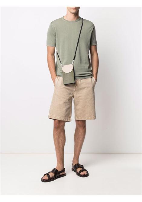 Green t-shirt  CENERE MAGLIE | T-SHIRT | FU51135ESERCITO