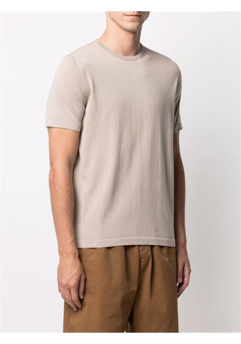 Beige t-shirt CENERE MAGLIE | T-SHIRT | FU51135JUTA