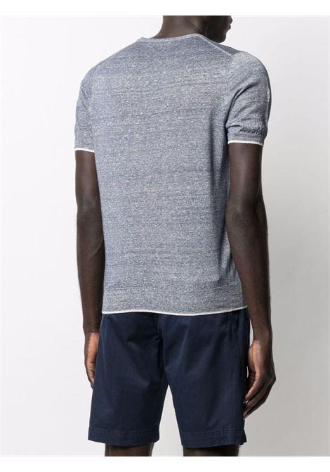T-shirt blu/grigio CENERE MAGLIE | T-SHIRT | FU62125AM004