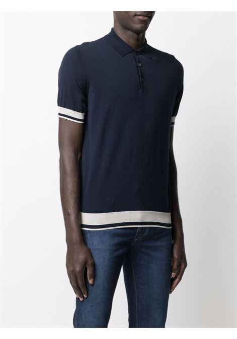 Blue Polo shirt CENERE MAGLIE | POLO | FU632355993711