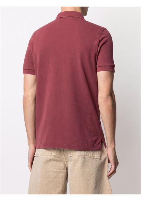 Red Polo shirt CENERE MAGLIE | POLO | FU80118AMARANTO