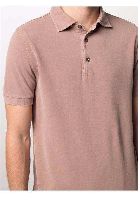 Brown Polo shirt CENERE MAGLIE | FU80118BACCA