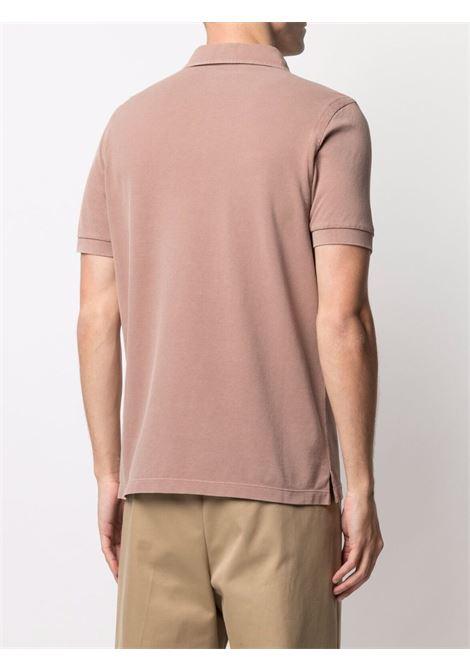 Brown Polo shirt CENERE MAGLIE | POLO | FU80118BACCA