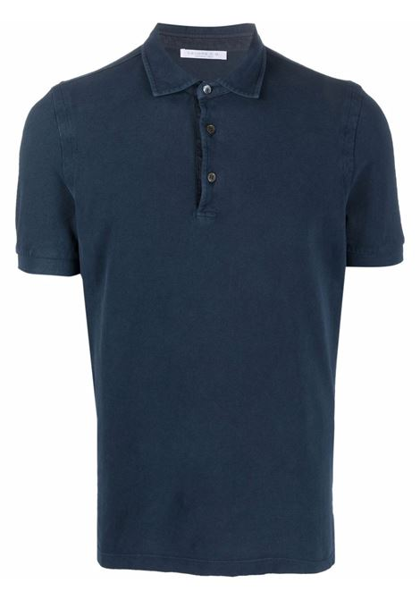 Blue Polo shirt CENERE MAGLIE | FU80118NAVY