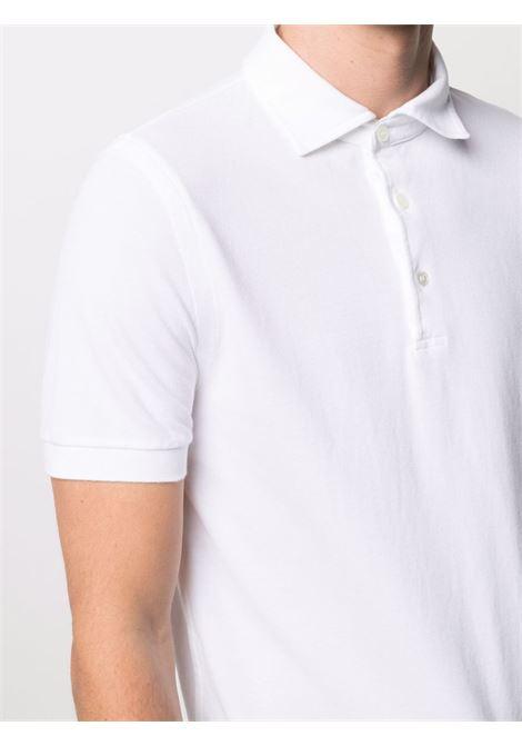 White Polo shrit CENERE MAGLIE | FU80118OTTICO
