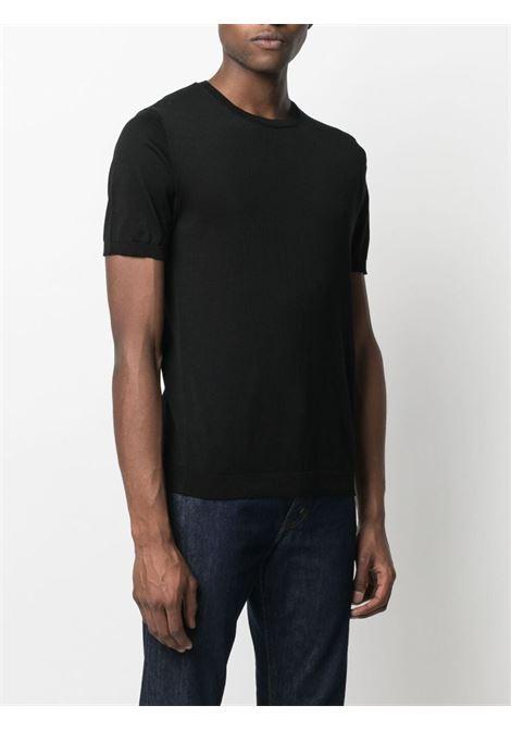 T-shirt nera CENERE MAGLIERIA | T-SHIRT | 311C2001000016