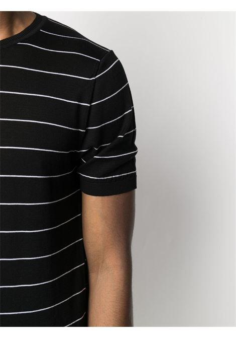 T-shirt nera CENERE MAGLIERIA | T-SHIRT | 311C2301000016