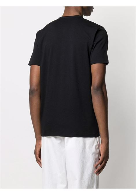 T-shirt nera CENERE MAGLIERIA | T-SHIRT | 311J2011000016