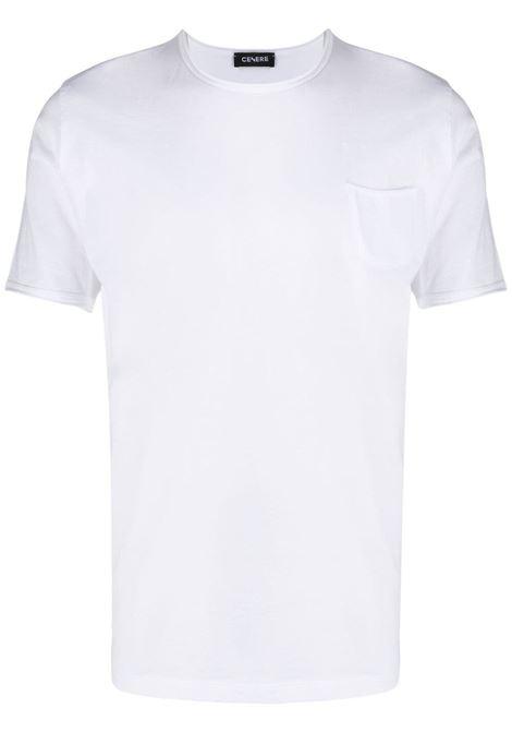 T-shirt bianca CENERE MAGLIERIA | T-SHIRT | 311J2051000001