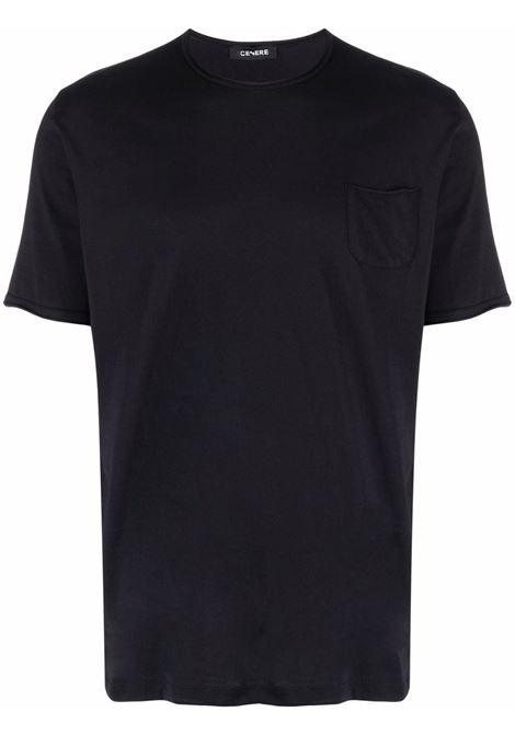 T-shirt nera CENERE MAGLIERIA | T-SHIRT | 311J2051000016